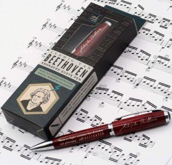 Beethoven Quote Pen