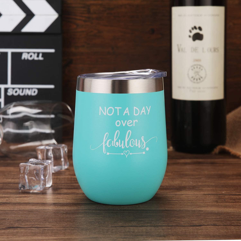 5. Birthday Wine Glass