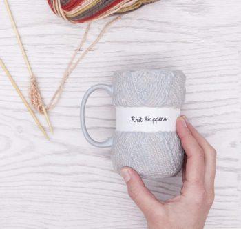 Boxer Knit Happens Mug