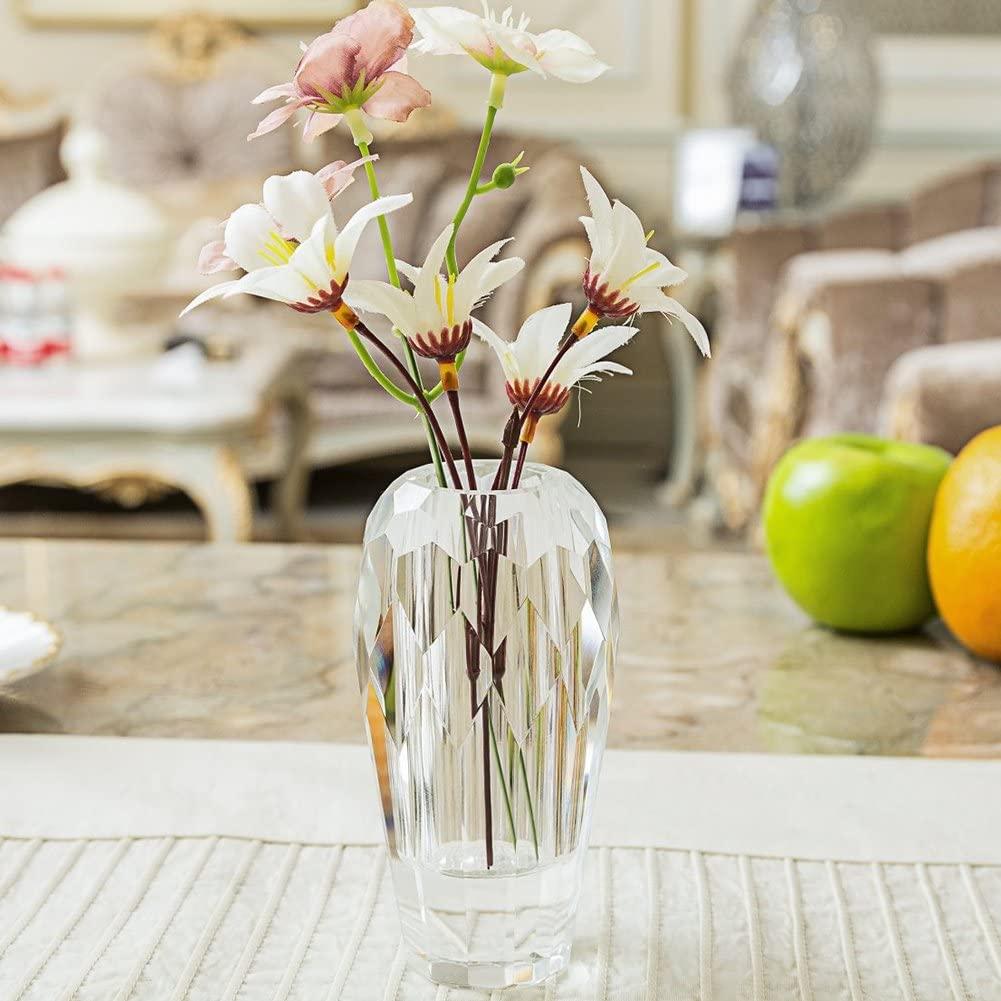 10. Bud Crystal Centerpiece Vase