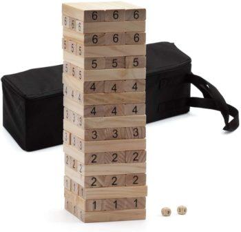 Building blocks stacking game