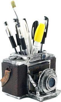 Camera Pen Pencil Holder