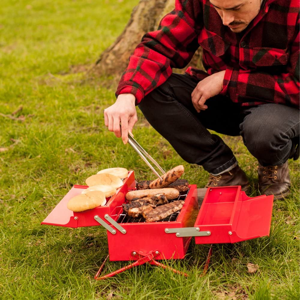 2. Camping Grill