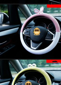 Car Penguin Steering Wheel Cover