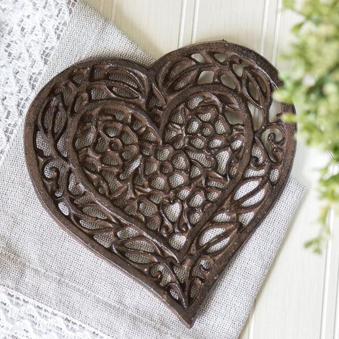 5. Cast Iron Heart Trivet