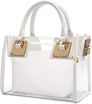 Casual transparent handbag