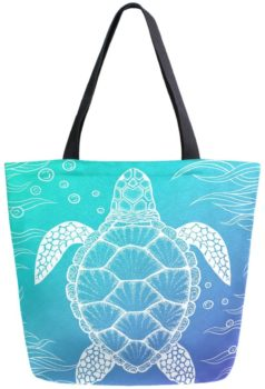 Chic Extra Large Canvas Tote Bag Portable