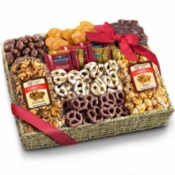 Chocolate Food basket