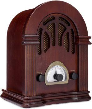 Classic Wooden Vintage Radio