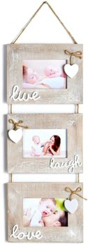 Collage hanging picture frame