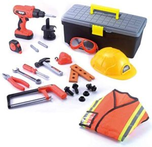 Construction Worker Play Tool Kit
