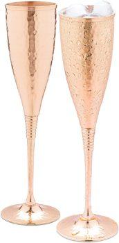 Copper Champagne Glass