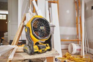 Cordless Fan for Jobsite