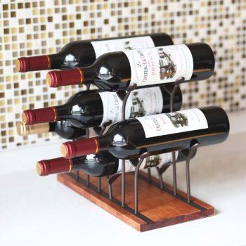 Countertop Bottle Rack