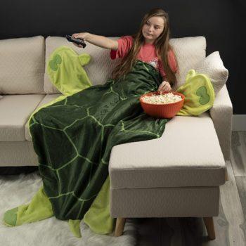 Cozy Turtle Blanket for Children
