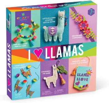 Craft-tastic – I Love Llamas Kit