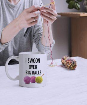 Crochet Coffee Mug for Women