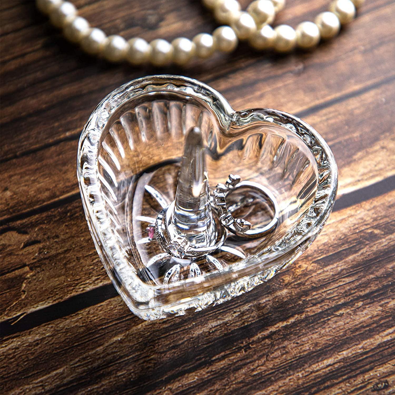 6. Crystal Ring Holder Dish