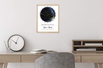 Custom Star Map Best Gift for weeding