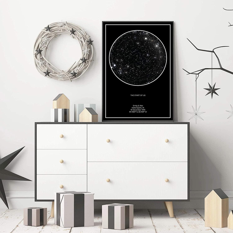 2. Customized Star Map