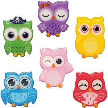 Cute Owl Magnets for Fridge Décor