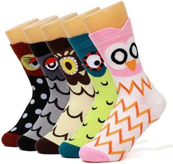 DOBIKULU Women's Cotton Casual Socks