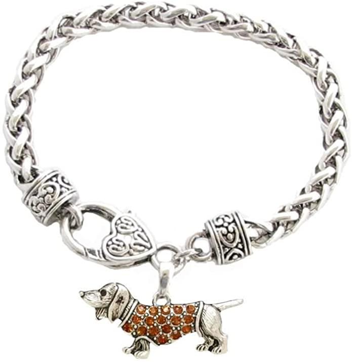 3. Dachshund Charm Bracelet