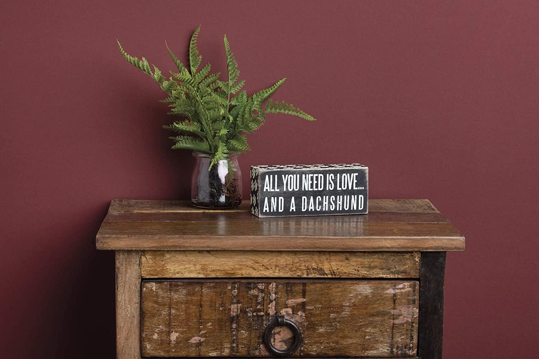 7. Dachshund Wooden Box Sign