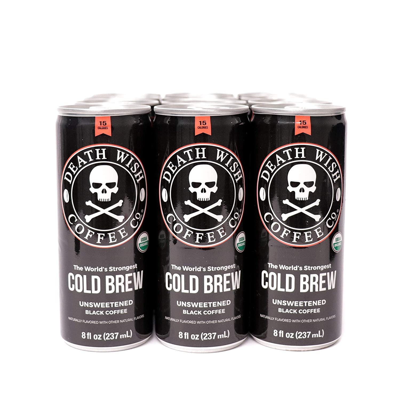 Death Wish Cold Brew Coffee