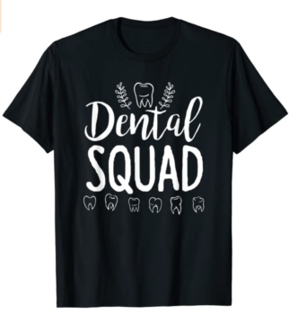Dental Squad Lined T-Shirt for Dental Students