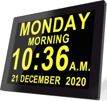 Digital Day Clock reminder and Custom Alarm