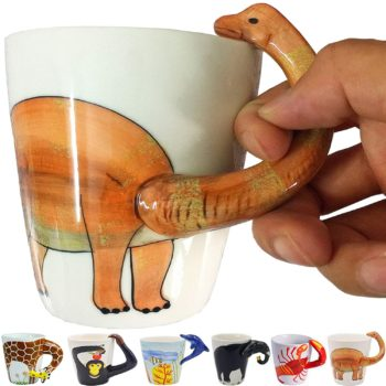 Dinosaur 3D Coffee Mug