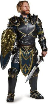 Disguise Men's Warcraft Lothar Prestige Costume
