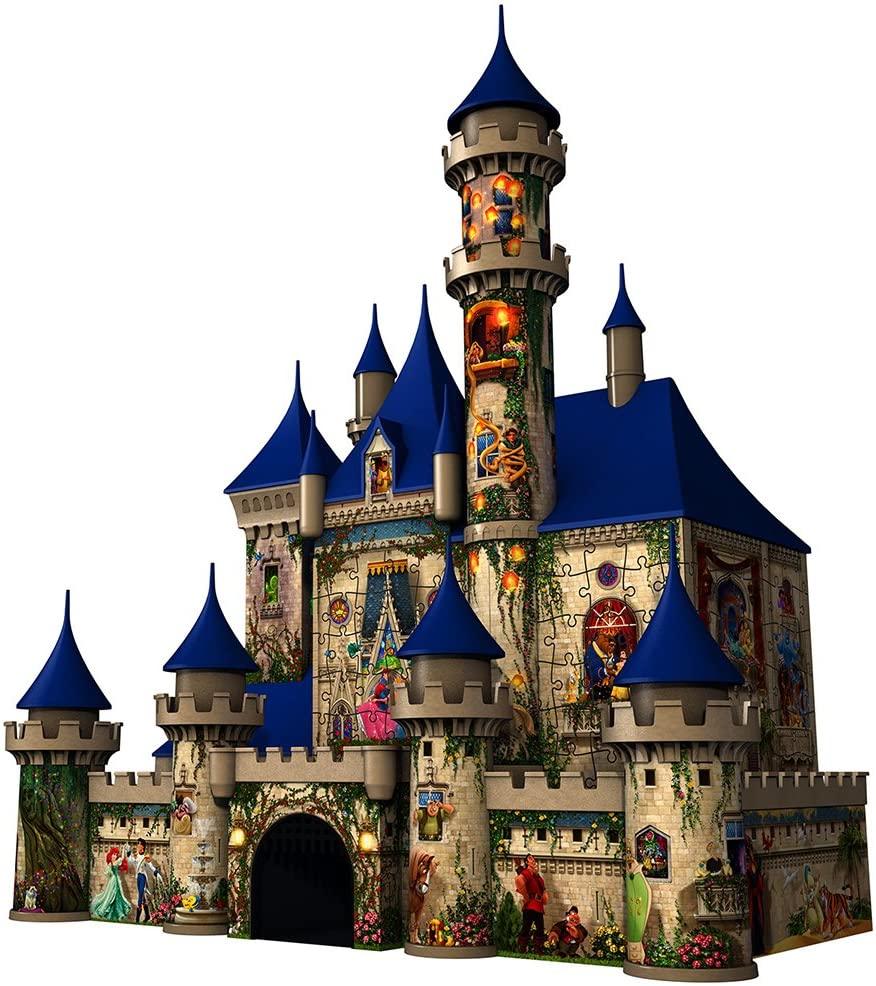 8. Disney Castle 3D Jigsaw Puzzle