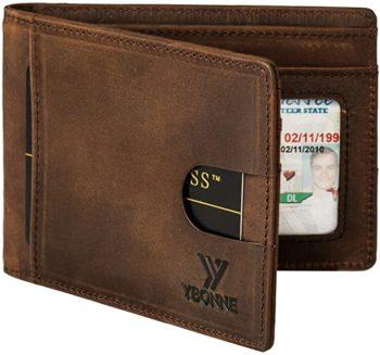 Double fold men's wallet
