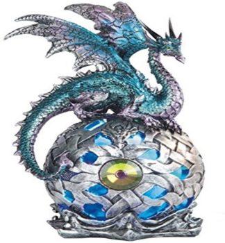 Dragon Orb Statue