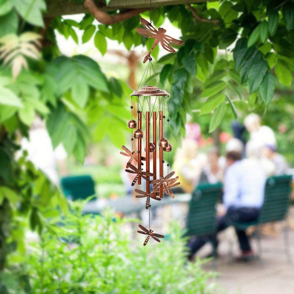4. Dragonfly Wind Chimes