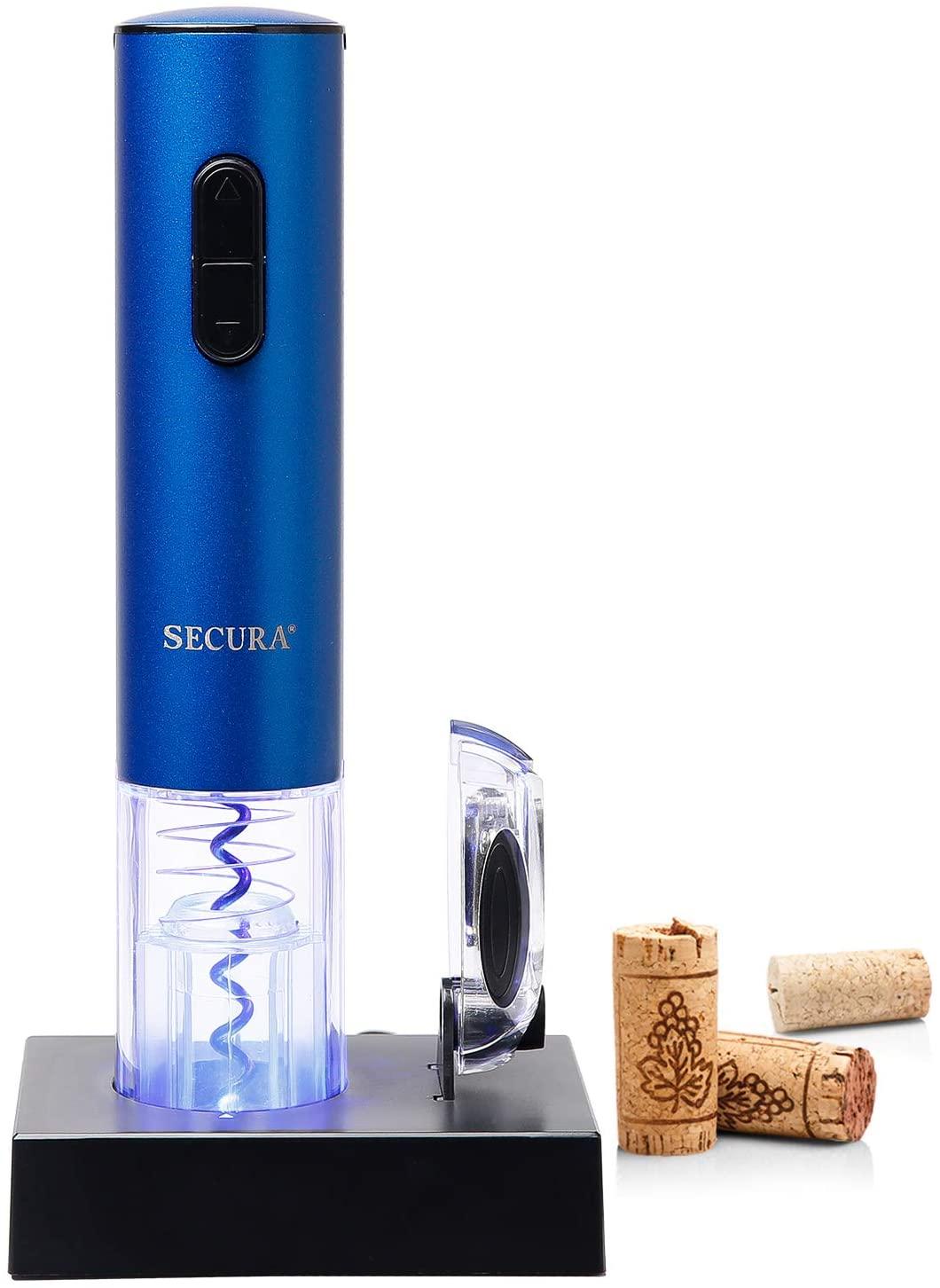 6. Electric Wine Bottle Corkscrew Opener