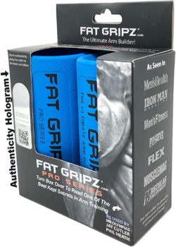 Fat Gripz Pro for Getting Big Biceps & Forearms Faster