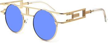 Female men's round sunglasses