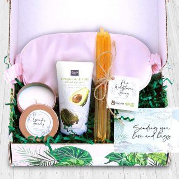 Feminine care package gift box