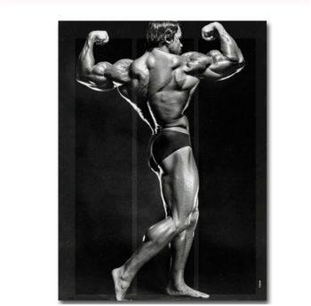 Fitness Art Poster Printing