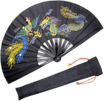 Folding Fans (Dragon & Phoenix)