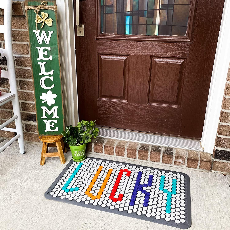 1. Freeloop DIY Customizable Doormat