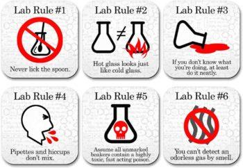 Funny Science Coaster Set