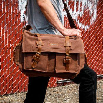 GEARONIC's Men's Messenger Bag