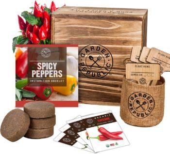 Garden Pepper Seed Starter Kit