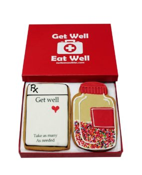 Get Well Cookie Gift