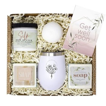 Get Well Soon Women's Gift Basket Care Package