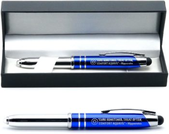 Gift pens with inspirational quotes
